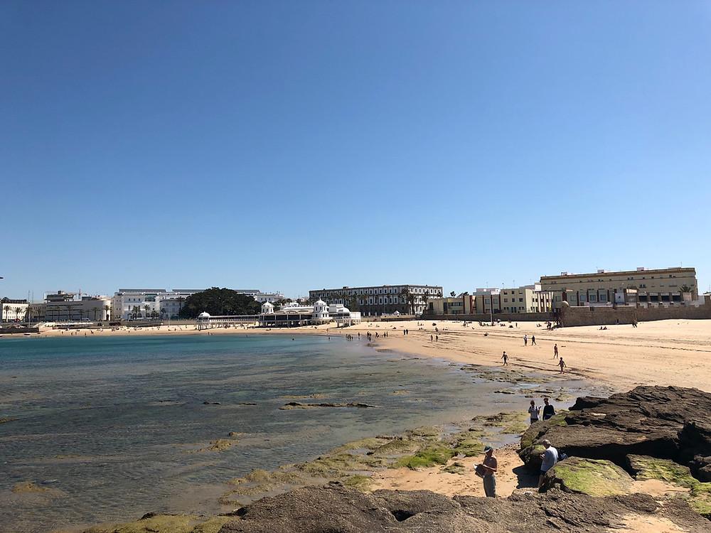 Playa de la Caleta de Cádiz