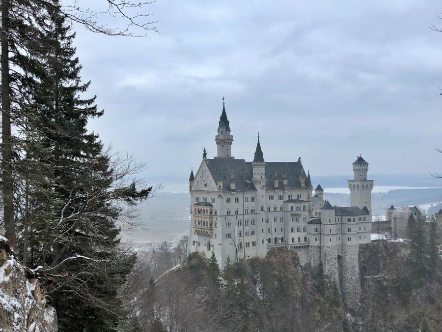 Castillo de Neuschwanstein en febrero