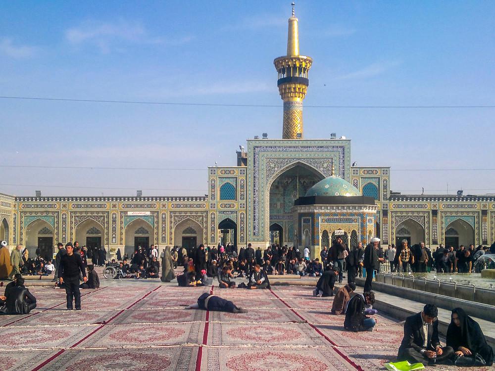 Mezquita en Isfahan