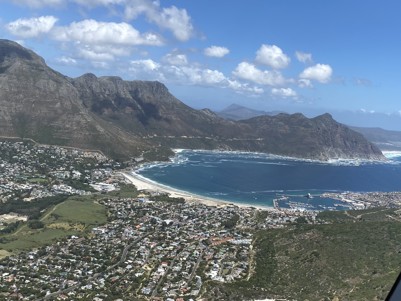 Vista aérea de Hout Bay