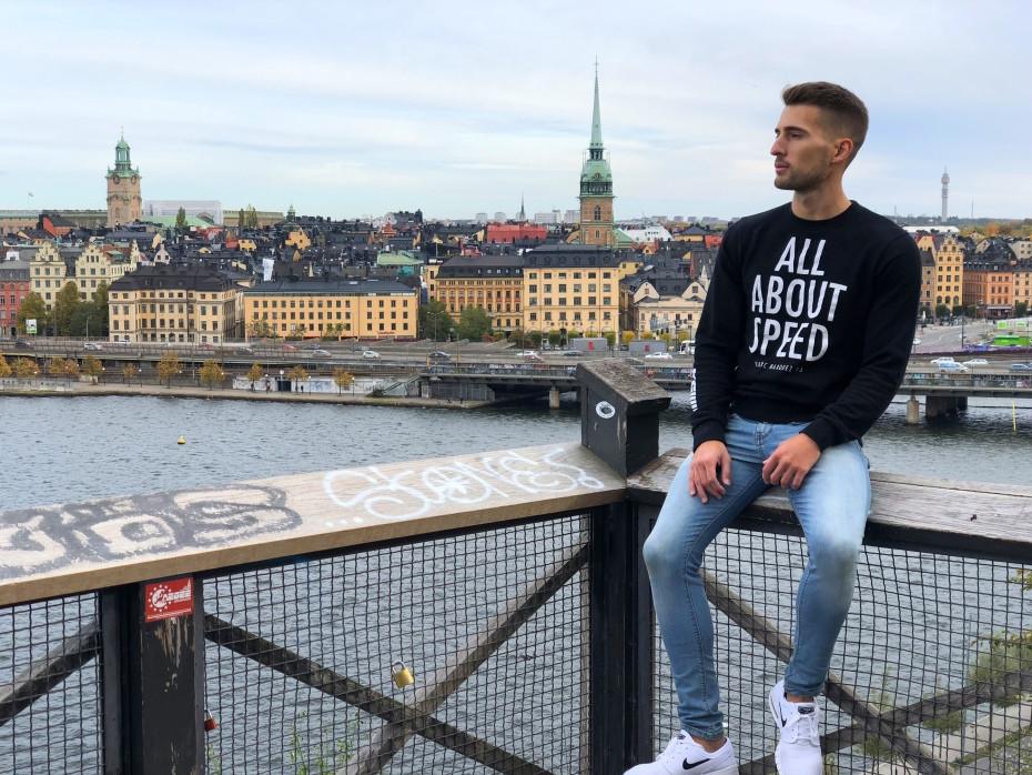 Mirador de Moteliusvagen en Estocolmo
