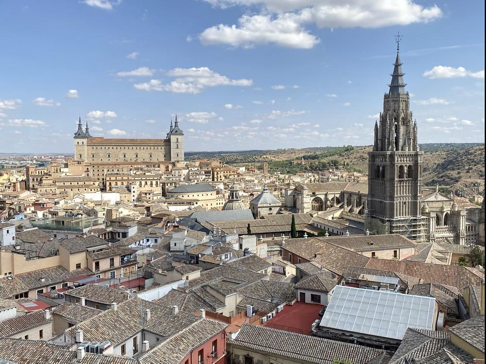Vista panorámica desde la Iglesia de los Jesuitas