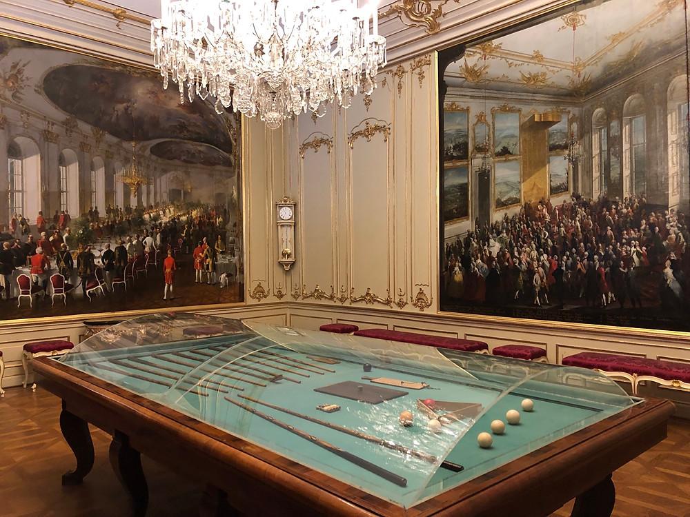 Sala del billar Schonbrunn