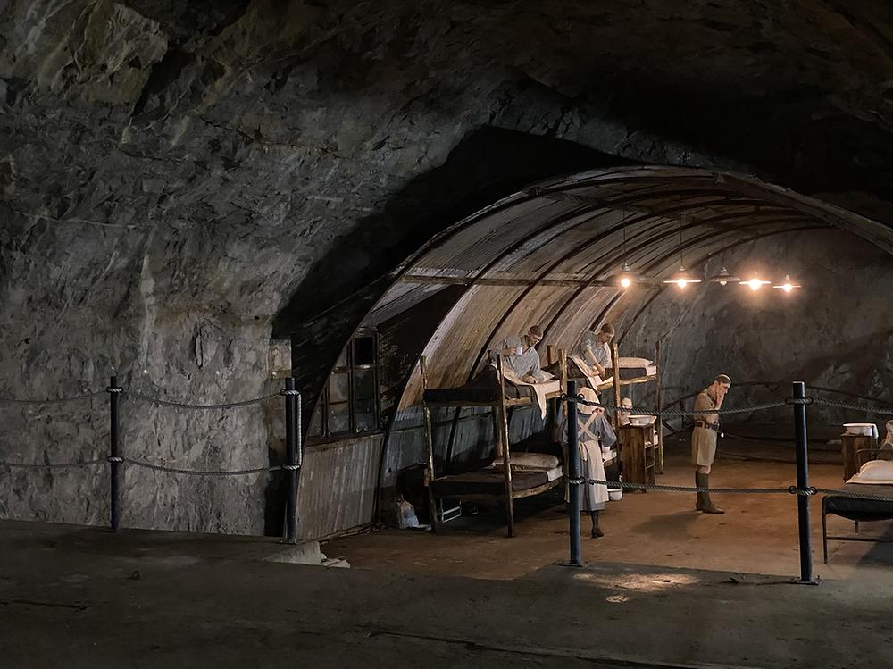 Túneles segunda guerra mundial Gibraltar