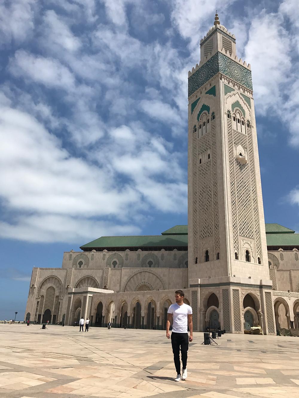 El exterior de la mezquita Hassan II es uno de los lugares más 'instagrammeables' de Marruecos