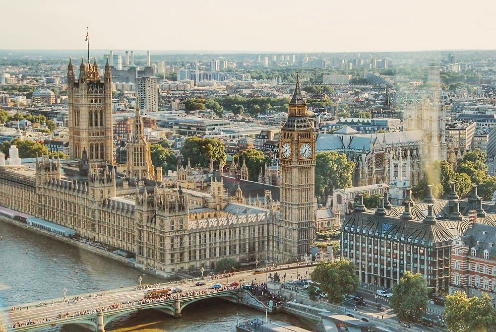 El Big Ben y Westminster
