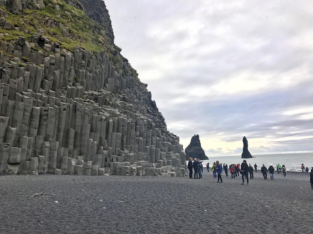 Iceland top spots: Reynisfjara black sand beach