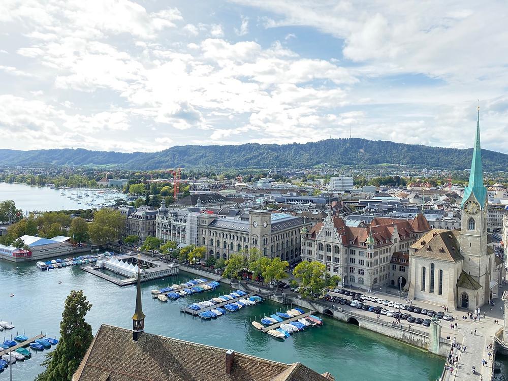 Vista panorámica Zurich