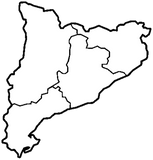 Mapa Cataluna