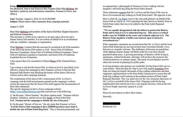 Richmond resident Auguast 4, 2002 email