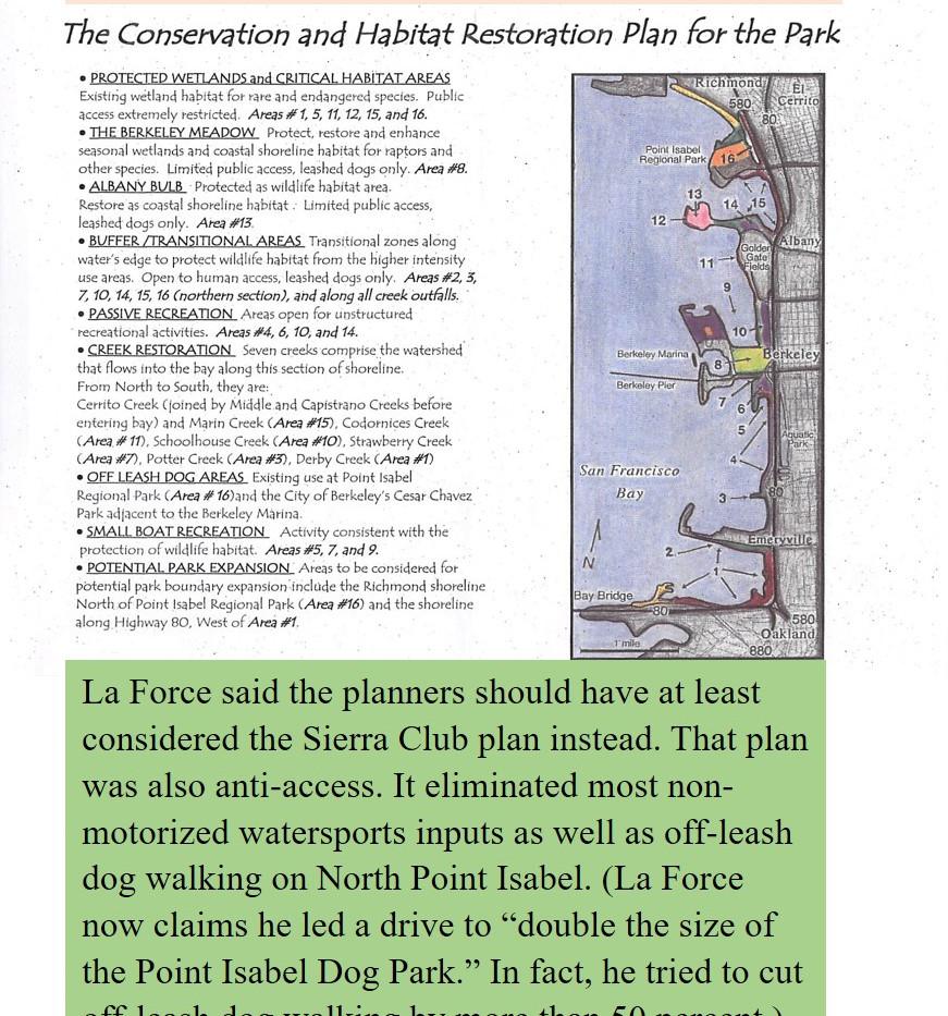 Sierra Club plan was slightly less draco