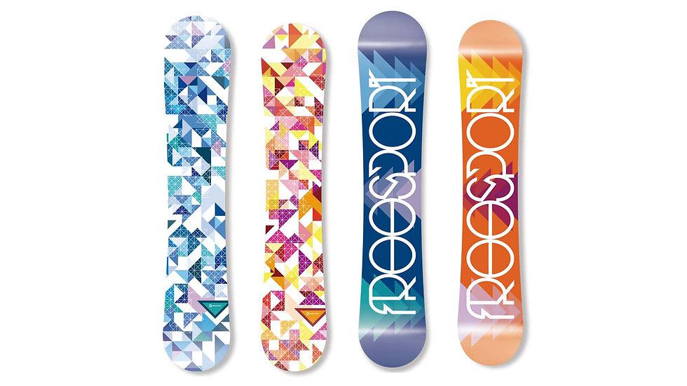 Snowboard FSX 01