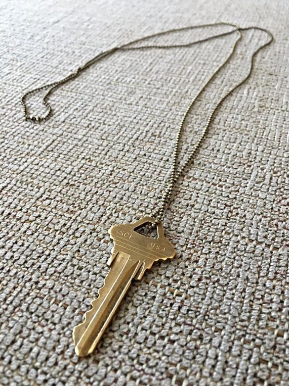 DIY Key Necklace