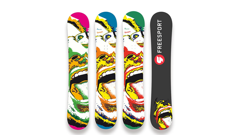 Snowboard Scream