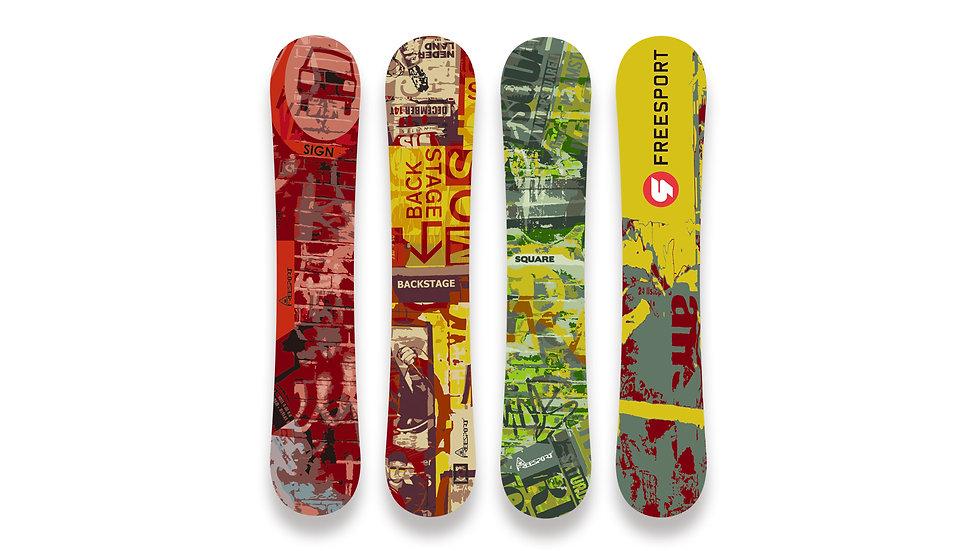 Snowboard StreetArt