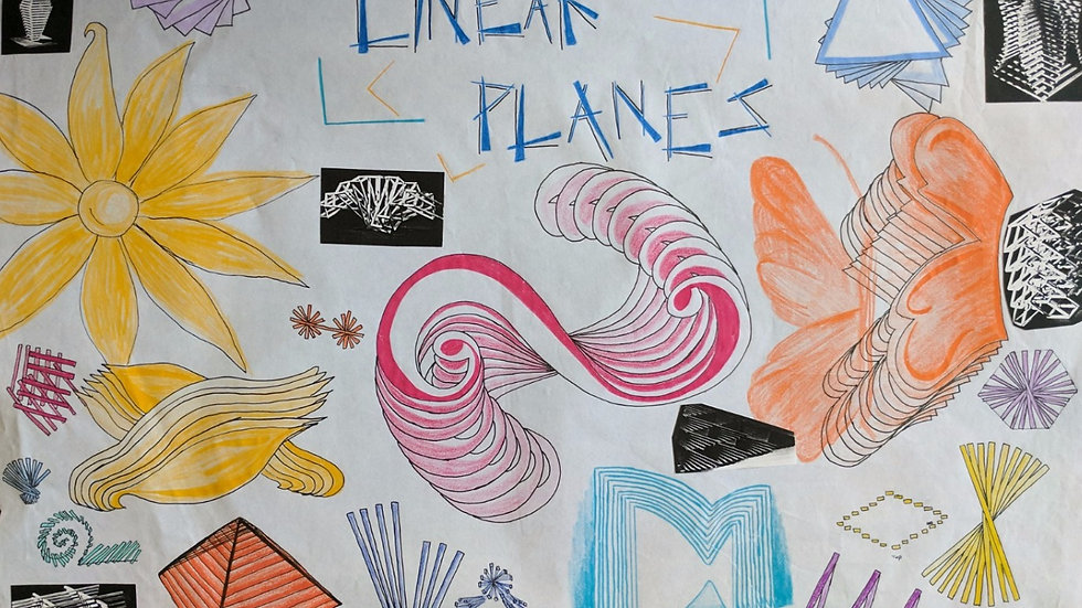 Linear Planes (study)