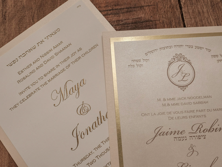 Can You Add A Jewish Quote On Our Invitation?