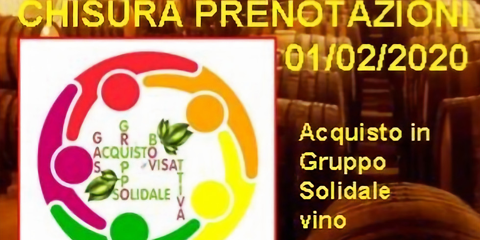 Gruppo d'acquisto vino dal produttore