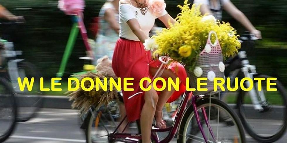Biciclettata per la festa delle donne