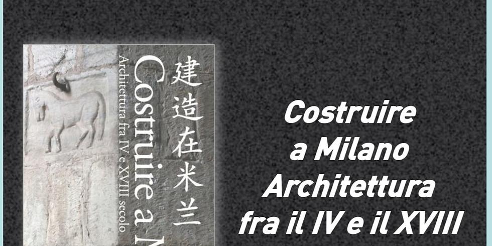 """Presentazione del libro """"Costruire a Milano"""""""