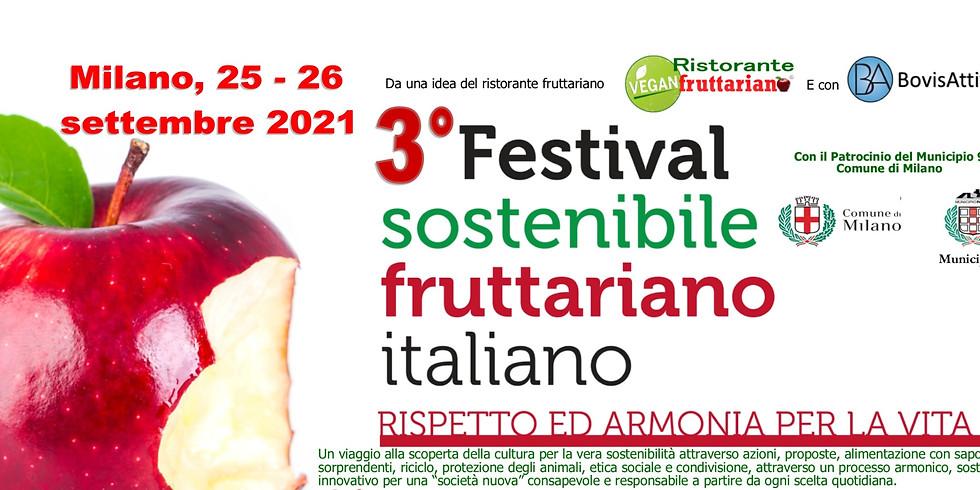3^ Festival sostenibile fruttariano 2021