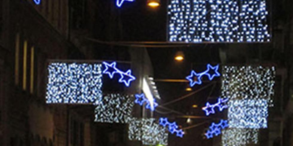 Inaugurazione Luminarie Natale 2019