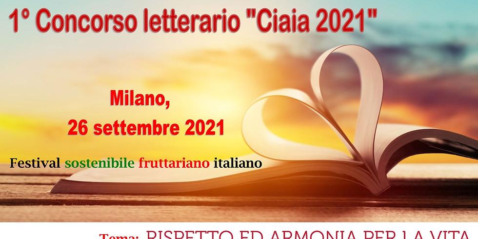 Concorso letterario Ciaia 2021