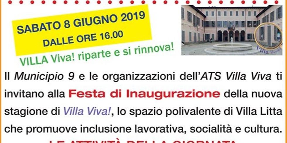Inaugurazione nuovo spazio eventi a Villa Litta