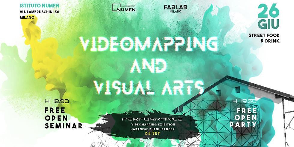 Video Mapping, Animazione 2D e 3D, e Realtà Virtuale