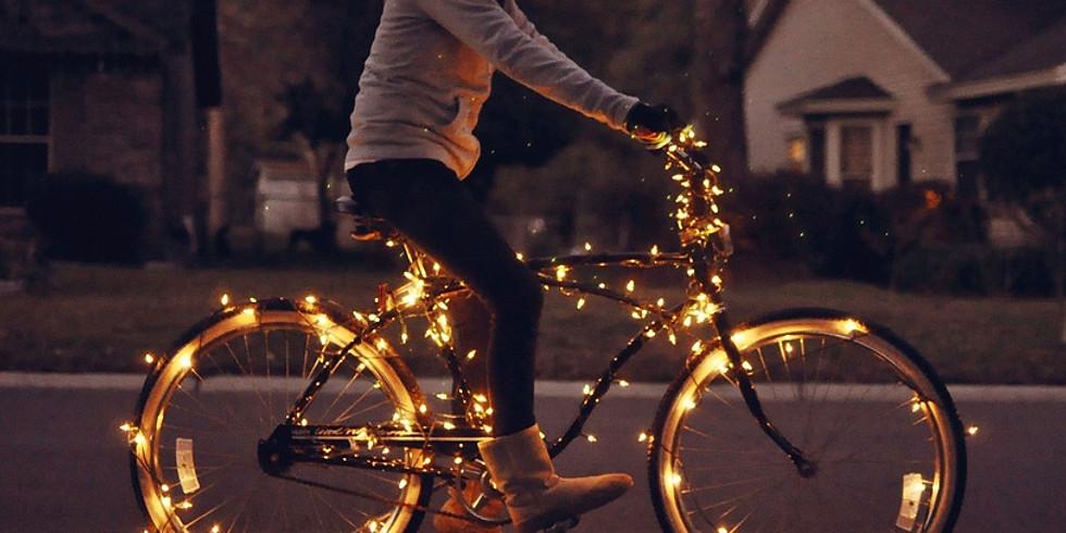 Giro serale in bicicletta