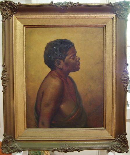 oil painting on canvas, portrait, Edward Fristrom, nineteenth century portrait, artisan, art gallery, art online