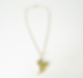 Jaunty Heart handmade sterling silver necklace