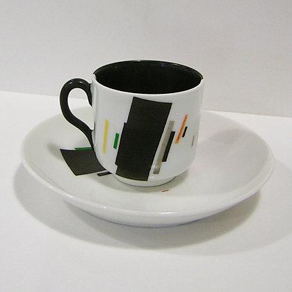 Nikolai Suetin coffee cup and saucer