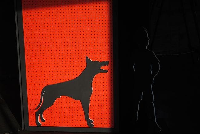 installation art work The Boy