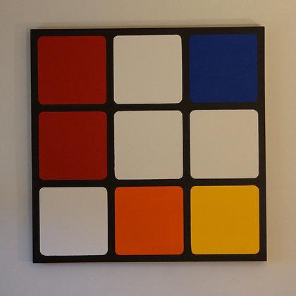 Neo Plastic Cube #3
