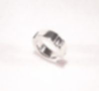 """""""Cygnet' hand made solid sterling silver ring"""