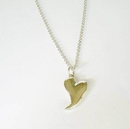 Jaunty Heart Necklace