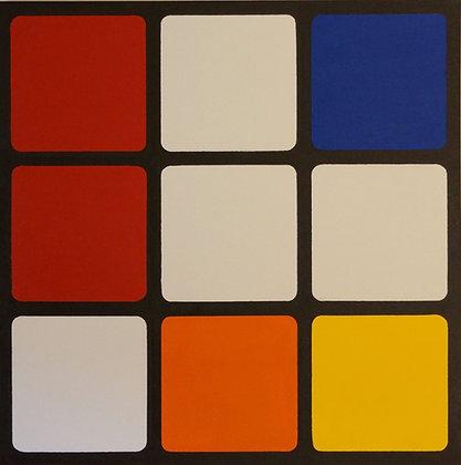 Neo Plastic Cube #1