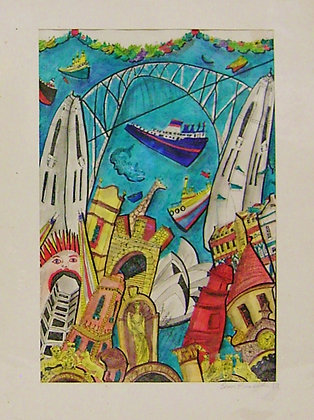 'Sydney Harbour #1' by Bern Emmericks