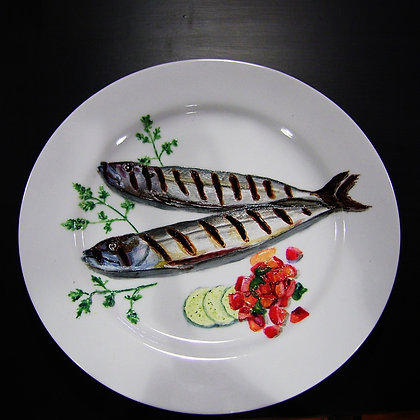 """BBQ'd Mackerel'"