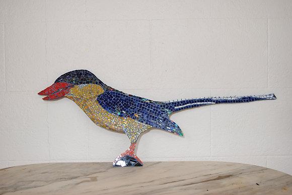 'Buff Breasted Paradise Kingfisher' Mosaic