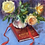 Thumbnail: Roses on a Red Book