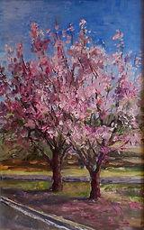 EAlekseyev_Cherry Blossom_oil on linen_e