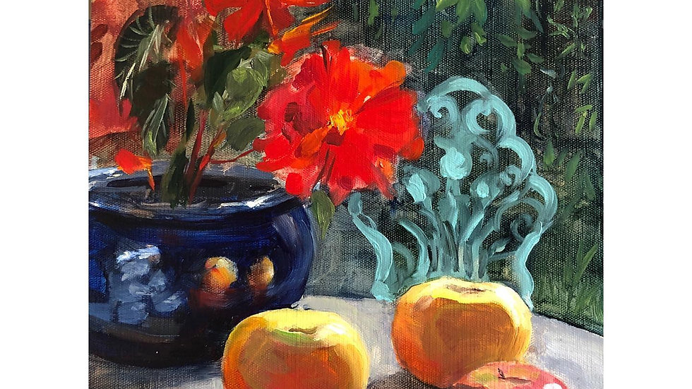 Apples and Begonias