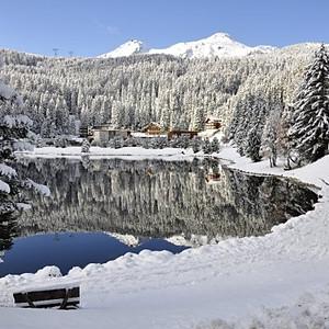 Arosa im Winter