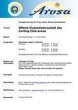 2021 Ausschreibung_Clubmeisterschaft CCA
