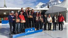 """Team """"Dübendorf Attinger""""  Curling Open Air Schweizermeister 2018"""