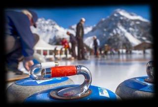 Wir spielen wieder Curling