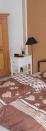 Schalfzimmer, Doppelbett