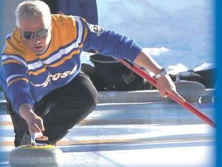 Jetzt Openair-Curling-Training !!